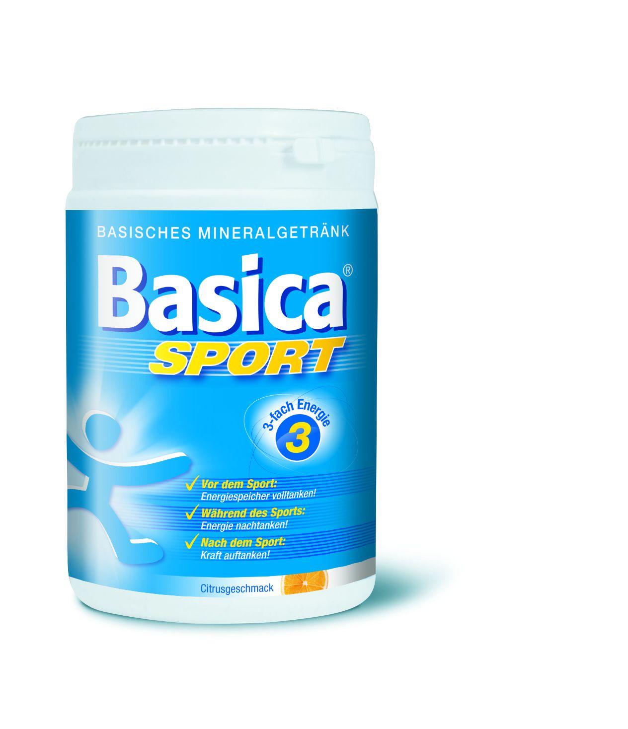 BASICA Sport Mineralgetränk Pulver 660 g - Powerdrinks - Fitness ...