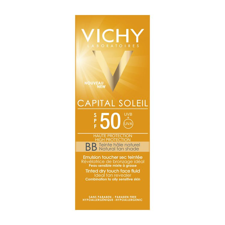 vichy capital soleil bb creme lsf 50 50 ml vichy. Black Bedroom Furniture Sets. Home Design Ideas